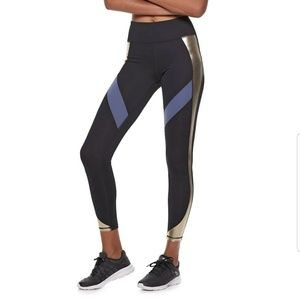 Women's FILA SPORT Shine Inset High-Waisted Leggin